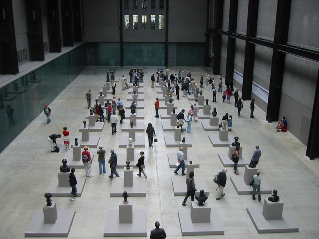 Foyer of the Tate Modern