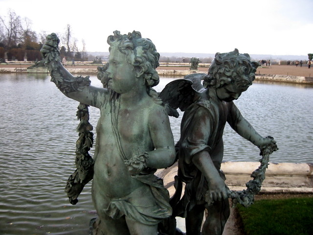 Statues at Versailles