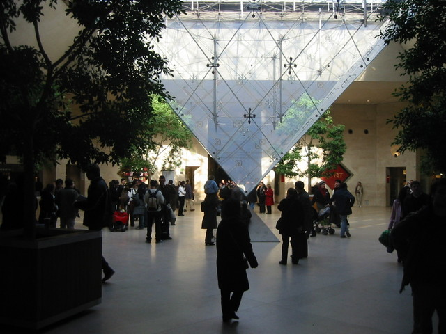 Inverted Pyramid at Louvre