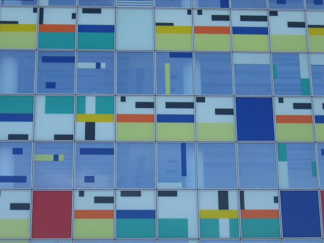 Coloured tiles