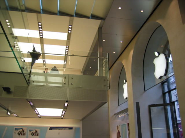 Apple store on Regent Street