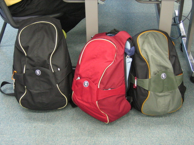 Crumpler backpacks