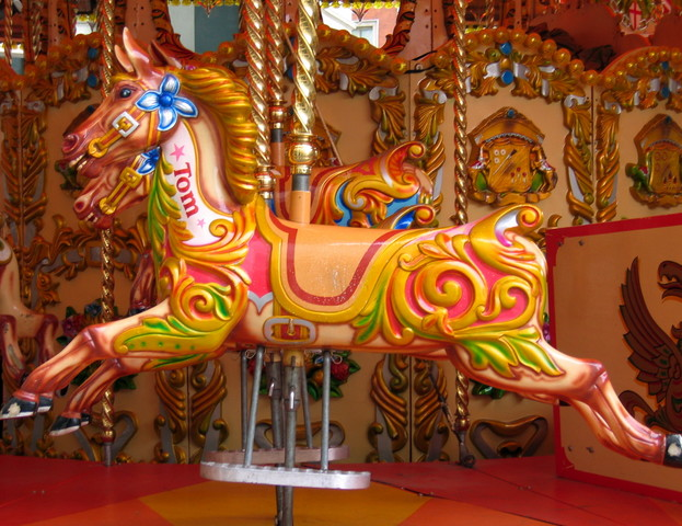English Horses, Collecting Carousels, Round Horses, Merry ...