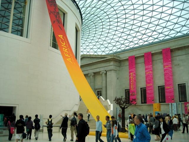 British Museum Foyer : British museum foyer cuboidal photos