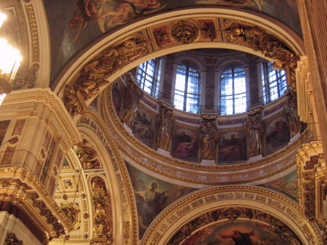 Ceiling of St. Isaac's Cathedral